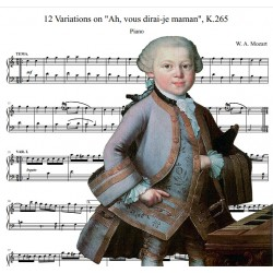 Mozart - 12 Variations on...