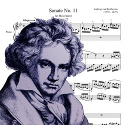 Beethoven - Sonate No. 11,...