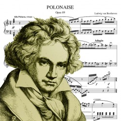 Beethoven - Polonaise in C...