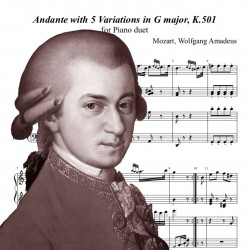 Mozart - Andante with 5...