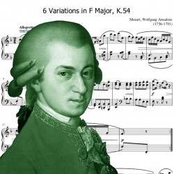 Mozart - 6 Variations in F...