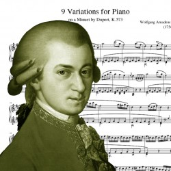 Mozart - 9 Variations for...