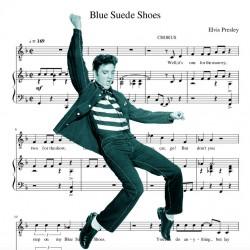 Elvis Presley - Blue Suede...