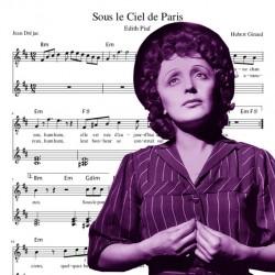 Edith Piaf - Sous le ciel...