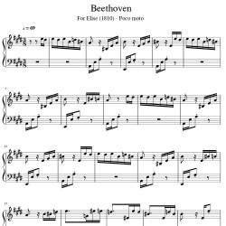 Beethoven - For Elise...