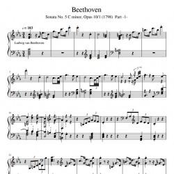 Beethoven - Sonata No. 5 C...