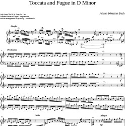 Bach - Toccata and Fugue in...