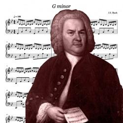 G minor Bach -...