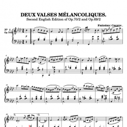 Chopin - Deux Valses...