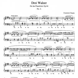 Chopin - Drei Walzer Op. 64...