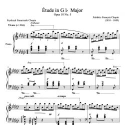 Chopin - Étude Op. 10 No....