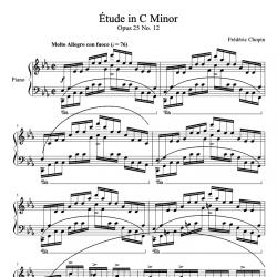 Chopin - Étude Op. 25 No....