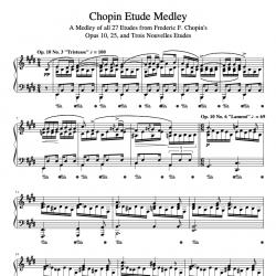 Chopin Etude Medley - A...