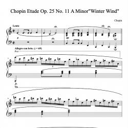 Chopin - Etude Op. 25 No....