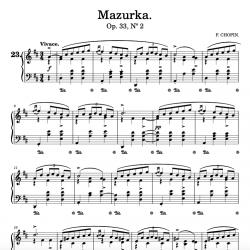 Chopin - Mazurka in D Major...
