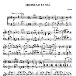 Chopin - Mazurka Op. 68 No....