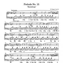 Chopin - Prelude No. 15 Op....