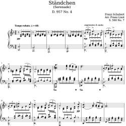 Schubert Liszt: Ständchen...