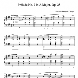 Chopin - Prelude No. 7 Op....