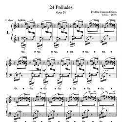 Chopin - 24 Préludes Opus....