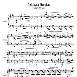 "Chopin - Polonaise ""Heroic""..."