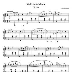 Chopin - Waltz in A Minor,...