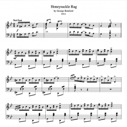 Honeysuckle Rag (1911)...