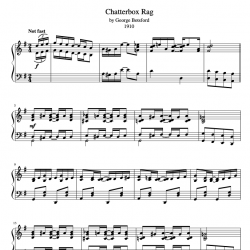 Chatterbox Rag (1910)...