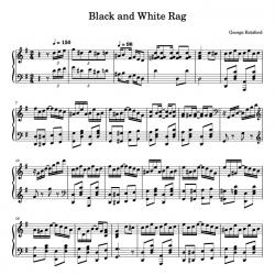 Black and White Rag -...