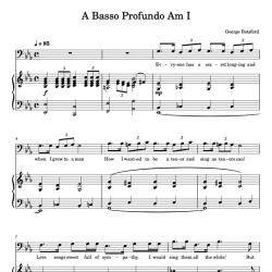 A Basso Profundo Am I Rag -...