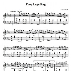Frog Legs Rag  - James...