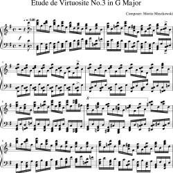 Moszkowski - Etude de...