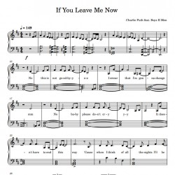 If You Leave Me Now -...