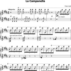 Liszt : La campanella...