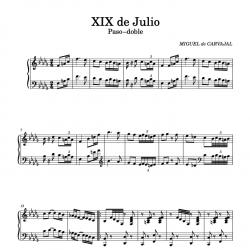 Paso doble XIX de Julio (c....