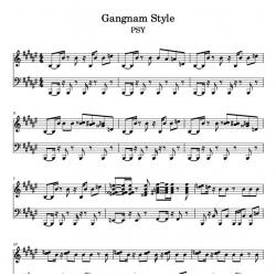 Gangnam Style - PSY - Piano...