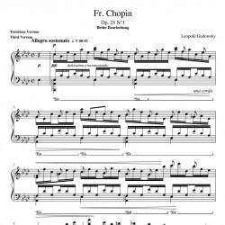 Chopin : Godowsky Study No...