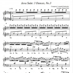Godowsky: Java Suite 3...