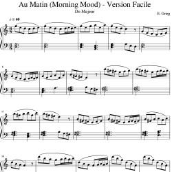Edvard Grieg : Au Matin...