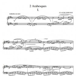 Debussy : Deux arabesques -...