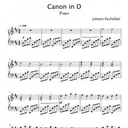 Canon in D (Pachelbel's...