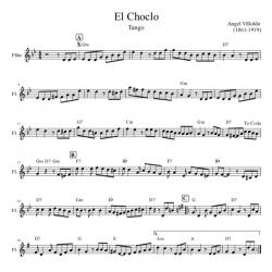 El Choclo Tango - Flute -...