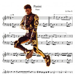 Lil Nas X - Panini - Piano...